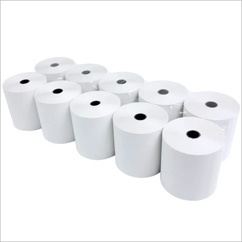 White Thermal Roll Paper