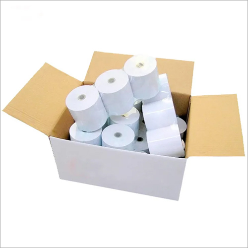 White Plain Thermal Roll Paper