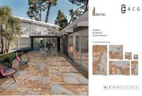 Outdoor Rock-Deck Porcelain Floor Tiles Manufacturer