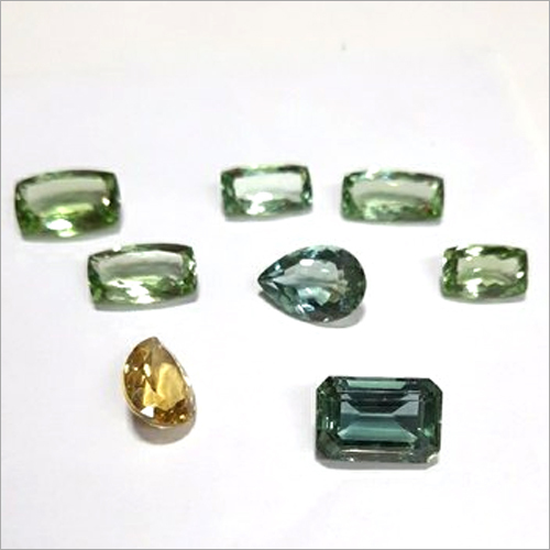 Multi Color Aquamarine Stone