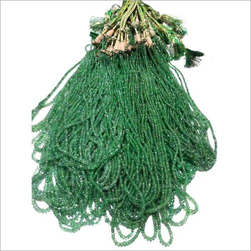 Green Emerald Beads