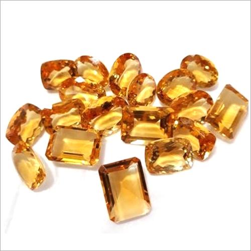 Golden Citrine Gemstone