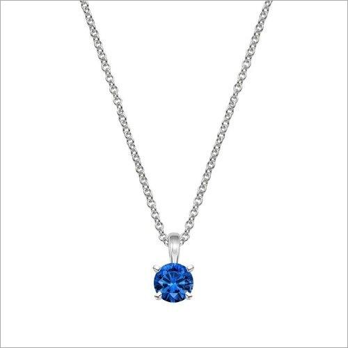 Designer Sapphire Gemstone Necklace