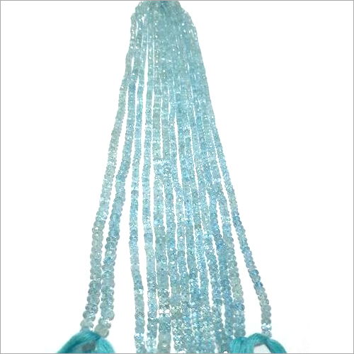 Faceted Rondelle Beads