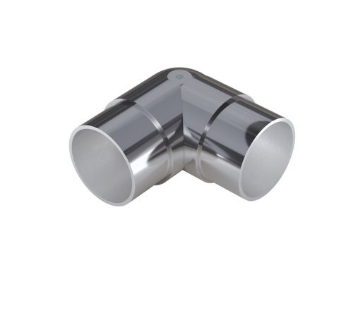 Stainless Steel Rotatable Round Elbow