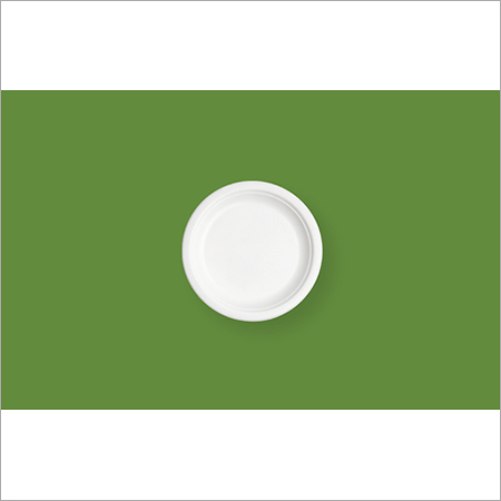 6'' Round Bagasse Plate