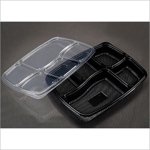 Plastic Food Meal Tray