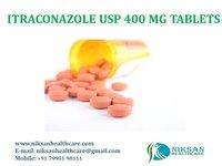 ITRACONAZOLE USP 400 MG TABLETS
