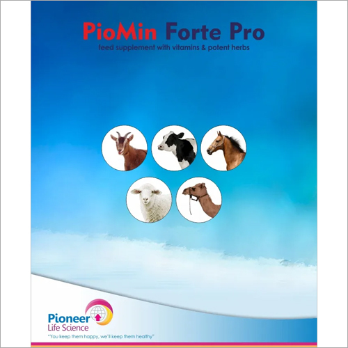 Piomin Forte Pro Feed Supplement With Vitamins and Patent Herbs