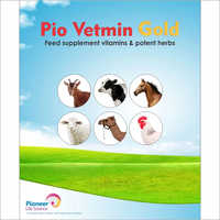 Pio Vetmin Feed Supplement Vitamin and Potent Herbs