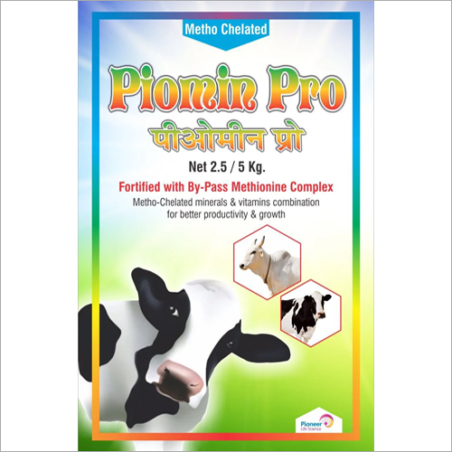 5 kg Piomin Pro Metho-Chelated Minerals And Vitamin Combination