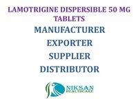 LAMOTRIGINE DISPERSIBLE 50 MG TABLETS