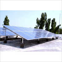 Solar Off Grid Rooftop Plant