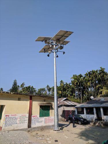 Solar High Mast Lighting Pole