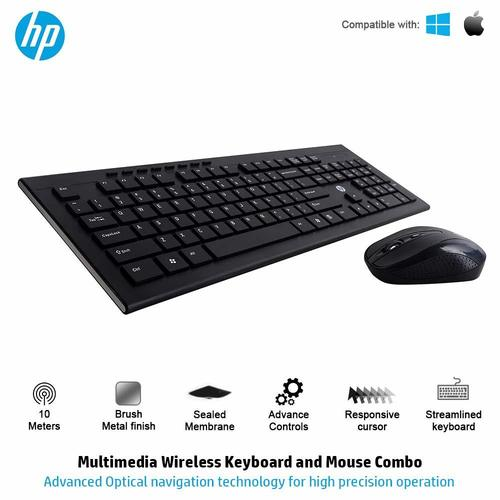 HP Multimedia Slim Wireless Keyboard & Mouse