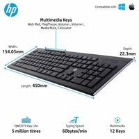 HP Multimedia Slim Wireless Keyboard & Mouse