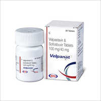 100mg Velpatasvir and Sofosbuvir Tablets