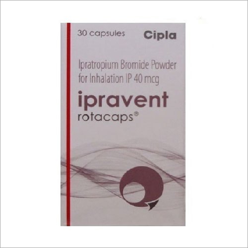 40MCG Ipratropium Bromide Powder for Inhalation