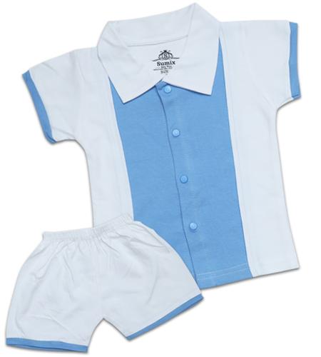 Sumix  Pumpkin Baby Shirts And Shorts