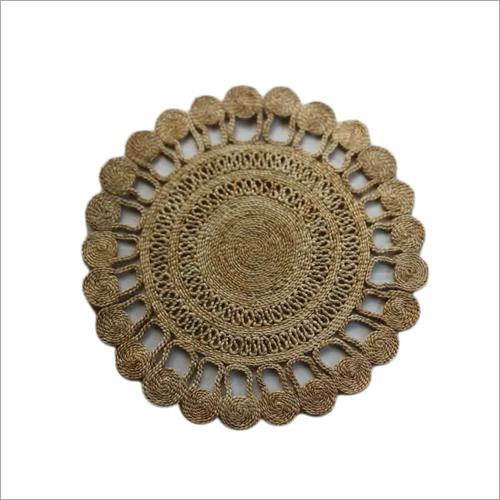 Handicraft Jute Round Door Mat
