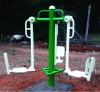 Outdoor 3 Station Leg Exerciser
