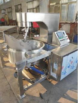 CP-200L Industrial Gas Caramel Popcorn Machine