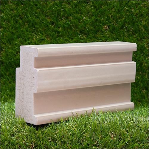 Natural Waterproof Wpc Solid Doorframe