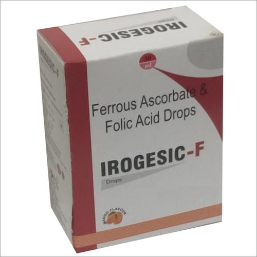 Ferrous Ascorbate And Folic Acid Drops