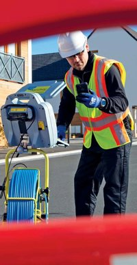 P540C Pearpoint Flexiprobe Pipe Inspection Camera