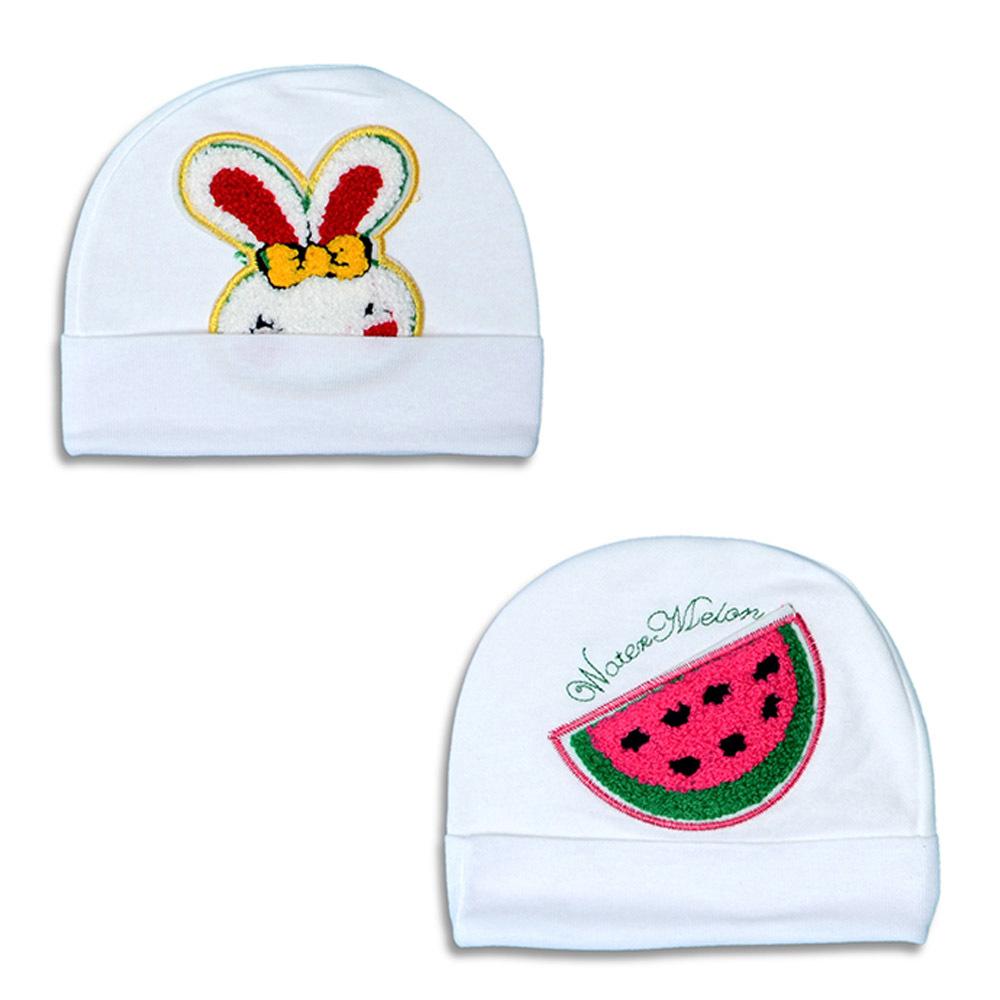 Cap Baby Water Melon Embro