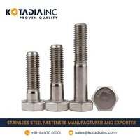 STAINLESS STEEL HEXAGONAL HALF THREADED BOLT/SCREW