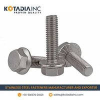 STAINLESS STEEL HEX FLANGE SCREW/ FLANGE HEAD BOLT