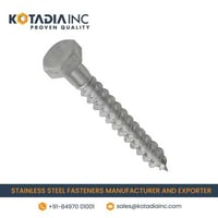 STAINLESS STEEL COACH SCREW/ LAG SCREW