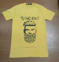 Men Round Neck Half Sleeve T-shirt