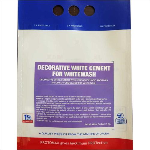 Decorative White Cement For White Wash