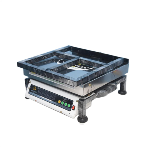100 KG Electronic Platform Weighing Scale Folding Grill