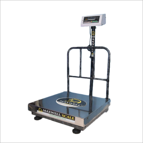 200 KG SS Electronic Platform Weighing Scale Folding Grill