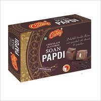 Chocolate Flavour Soan Papdi