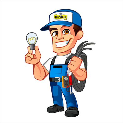 Electrician Mascot