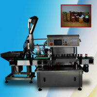 Automatic Glass Bottle Tin Can Capping Cap sealing  machine