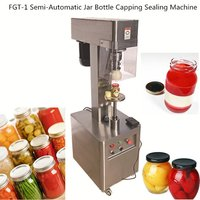 FGT-1 Semi-Automatic Jar Bottle Capping Sealing Machine