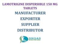 LAMOTRIGINE DISPERSIBLE 150 MG TABLETS