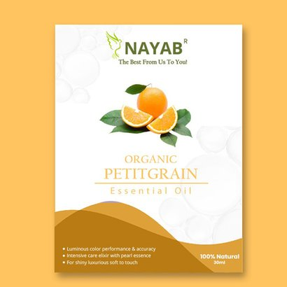 Organic Petitgrain Essential Oil Age Group: All Age Group