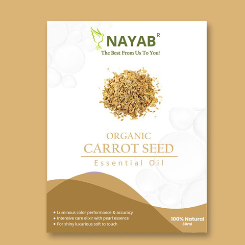 Organic Carrot Seed Essential Oil