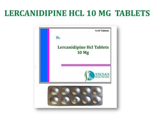 LERCANIDIPINE HCL 10 G TABLETS