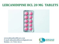 LERCANIDIPINE HCL 20 MG TABLETS