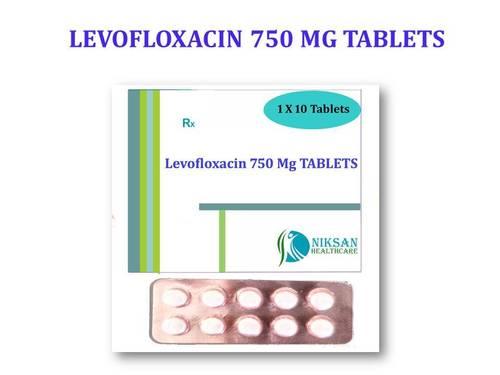 LEVOFLOXACIN 750 MG TABLETS