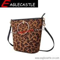 Leopard Grain Handbag / Tote Bag / Fashion Bag / women bag / ladies bag