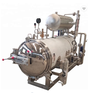Tz-700l  Canned Food Sterilizer Autoclave Used For Fruit Juice Bottle