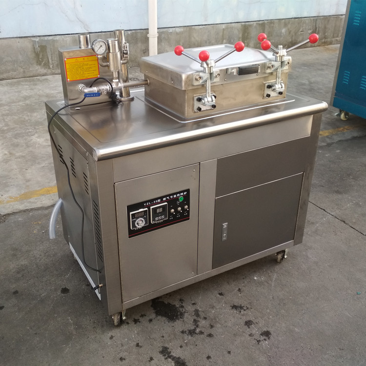 Electric Deep Vacuum Chicken Fryer Machine
